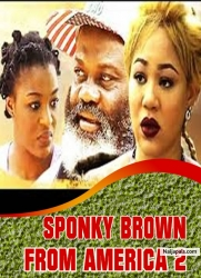 SPONKY BROWN FROM AMERICA 2