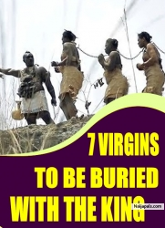 7 VIRGINS TO BE BURIED WITH THE KING