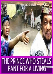 THE PRINCE WHO STEALS PANT FOR A LIVING