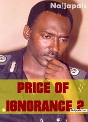 PRICE OF IGNORANCE 2
