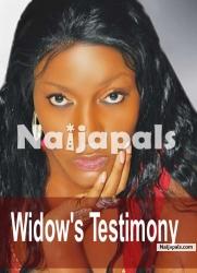 Widow's Testimony