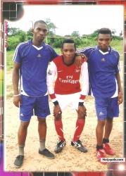 ME AND MY TEAM MATES