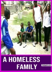 A HOMELESS FAMILY