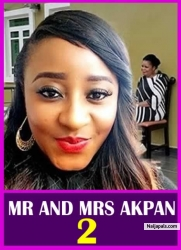 MR AND MRS AKPAN 2
