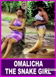 OMALICHA THE SNAKE GIRL