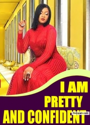 I AM PRETTY AND CONFIDENT