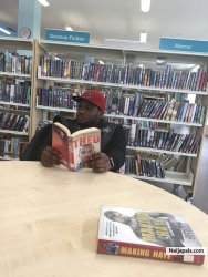 @ the library, reading some autobiographies