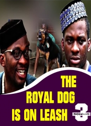 THE ROYAL DOG IS ON LEASH 3