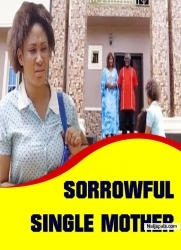 SORROWFUL SINGLE MOTHER