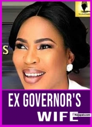 EX GOVERNOR'S WIFE