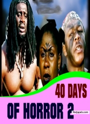 40 DAYS OF HORROR 2