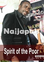 Spirit Of The Poor