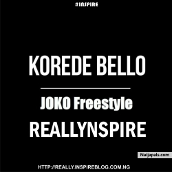 Joko Freestyle by Reallynspire X Korede Bello