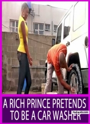 A RICH PRINCE PRETENDS TO BE A CAR WASHER