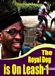 The Royal Dog is On Leash 1
