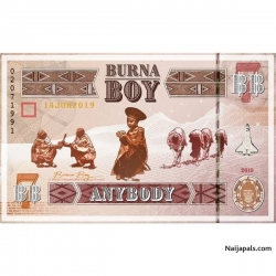 Anybody Burna Boy