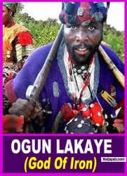 OGUN LAKAYE (God Of Iron)