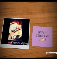 Happy Birthday by Kacci Ajike