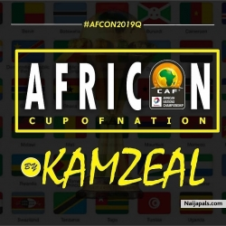 African cup of nation theme song by Kamzeal