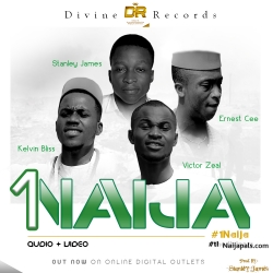1 Naija by The Diviners (Stanley James, Victor Zeal, Ernest Cee, Kelvin Bliss)