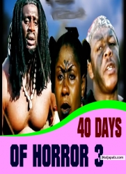 40 DAYS OF HORROR 3