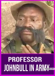 Professor JohnBull In Army