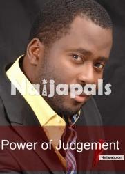 Power Of Judgement