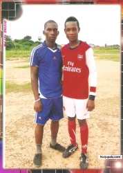 ME AND MY TEAM MATE