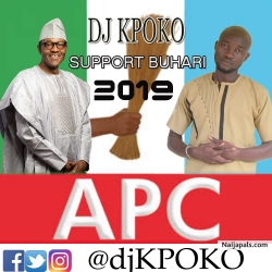 Support Buhari #NextLevel 2019-2023 by xup_KPOKO
