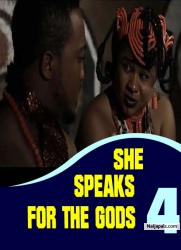 SHE SPEAKS FOR THE GODS 4