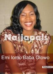 Emi Lomo Baba Olowo