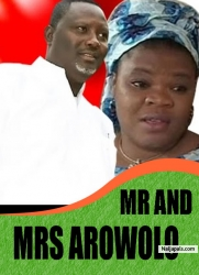 MR AND MRS AROWOLO