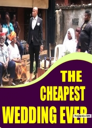 THE CHEAPEST WEDDING EVER