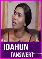 Idahun (Answer)