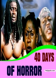 40 DAYS OF HORROR