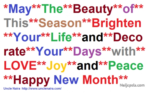 Happy New Month 2 All My Pals - click for next photo