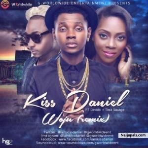 Kiss Daniel ft  Davido x Tiwa Savage - Woju Remix | Naija Songs